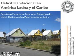 Déficit Habitacional en Am