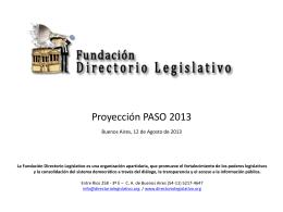 0 - Fundación Directorio Legislativo