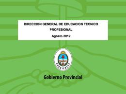 Plenario N° 3 - Dirección de Educación Técnico Profesional