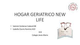 HOGAR GERIATRICO NEW LIFE