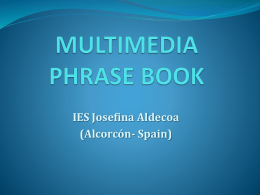 multimedia phrase book