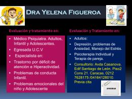 Dra Yelena Figueroa, publicidad