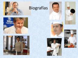 Biografías