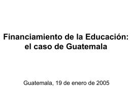 Qué se ha dicho en Guatemala?