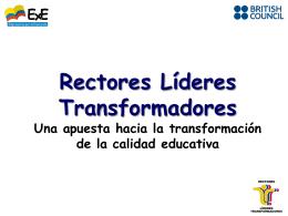 Presentación programa - Empresarios por la Educación
