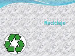 Reciclaje - bonitosygorditos
