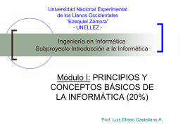 Universidad Nacional Experimental de los Llanos Occidentales
