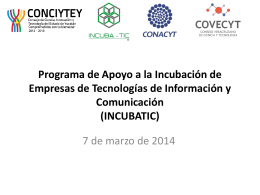 INCUBATIC - conciytey
