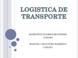 logisticaaa transporte.