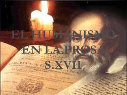 Humanismo en la prosa