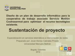Resultados - Universidad Manuela Beltrán