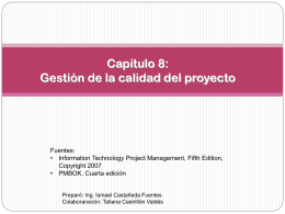 ch08_2011_1i_Calidad_v01 - Departamento de Ingeniería de