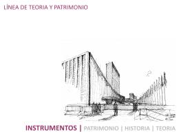 instrumentos - Escuela de Arquitectura