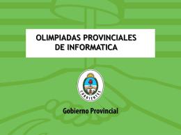 Olimpiadas de Informática - Dirección de Educación Técnico
