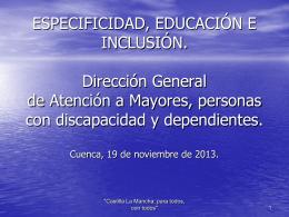 Recursos orientados a la inclusión social de personas con