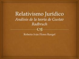Relativismo Jurídico