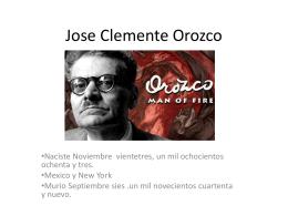 Jose Clemente Orozco