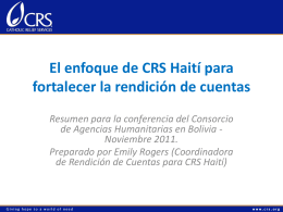 ECBinteractivo sesion RdC Haiti