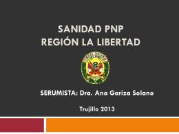 SANIDAD PNP Región La Libertad