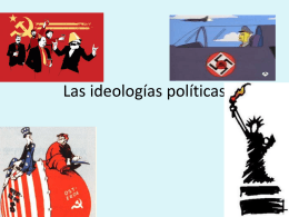 Las ideologías políticas
