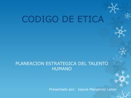 PLANEACION ESTRATEGICA DEL TALENTO HUMANO