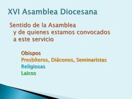 Hilo Conductor en la XVI Asamblea Diocesana