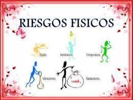 RIESGOS FISICOS DIAPOSITIVAS