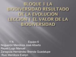 Bloque 1 Lección 1 El valor de la biodiversidad - est116