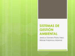 SISTEMAS DE GESTIÓN AMBBIENTAL