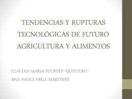 RUPTURAS TECNOLOGICAS DE FUTURO