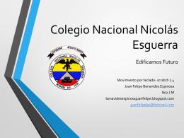Colegio Nacional Nicolás Esguerra Edificamos Futuro