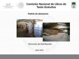 Presentación de PowerPoint - Comisión Nacional de Libros de