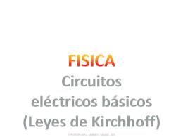 11° (ppt) Leyes de Kirchhoff)