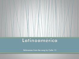 Latinoamérica - Concepcionespanol