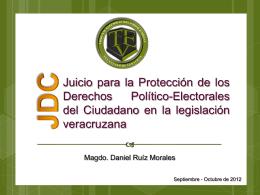 Derechos Político - Electorales - tribunal electoral del poder judicial