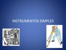 INSTRUMENTOS SIMPLES