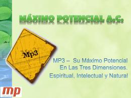 LOS MÁS EXCELENTE - Maximo Potencial