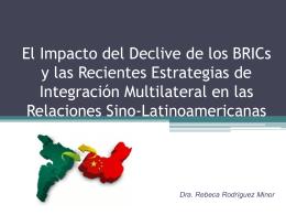 El Impacto del Declive de los BRICs y las Recientes - red alc