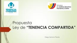 La presentación que el Dr Diego Serrano hizo al Ministerio de