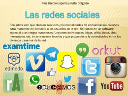 redes sociales Paz García-España y Rafa Delgado