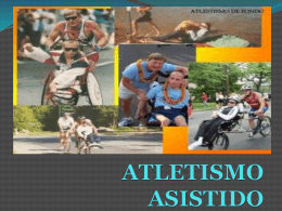 Atletismo asistido - Edith Cassias