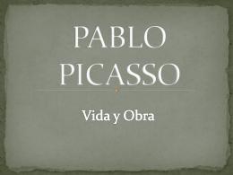 PABLO PICASSO - Arte y Cultura