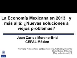 Diapositiva 1 - Economía, Población y Desarrollo