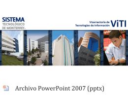 pptx - Tecnológico de Monterrey