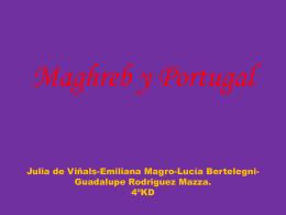 Maghreb y Portugal