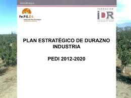Jornada - Federación Plan Estratégico de Durazno para Industria