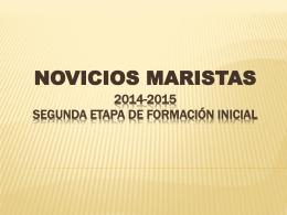 2014-2015 SEGUNDA ETAPA DE FORMACIÓN INICIAL