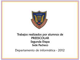 Preescolar2daEtapa2012