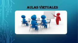 Aulas virtuales - TECNOLOGIA EDUCATIVA I