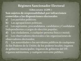 Presentación Régimen Sancionador - COMITE